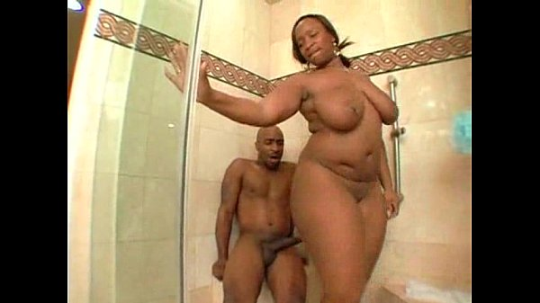 black people porn in the shower